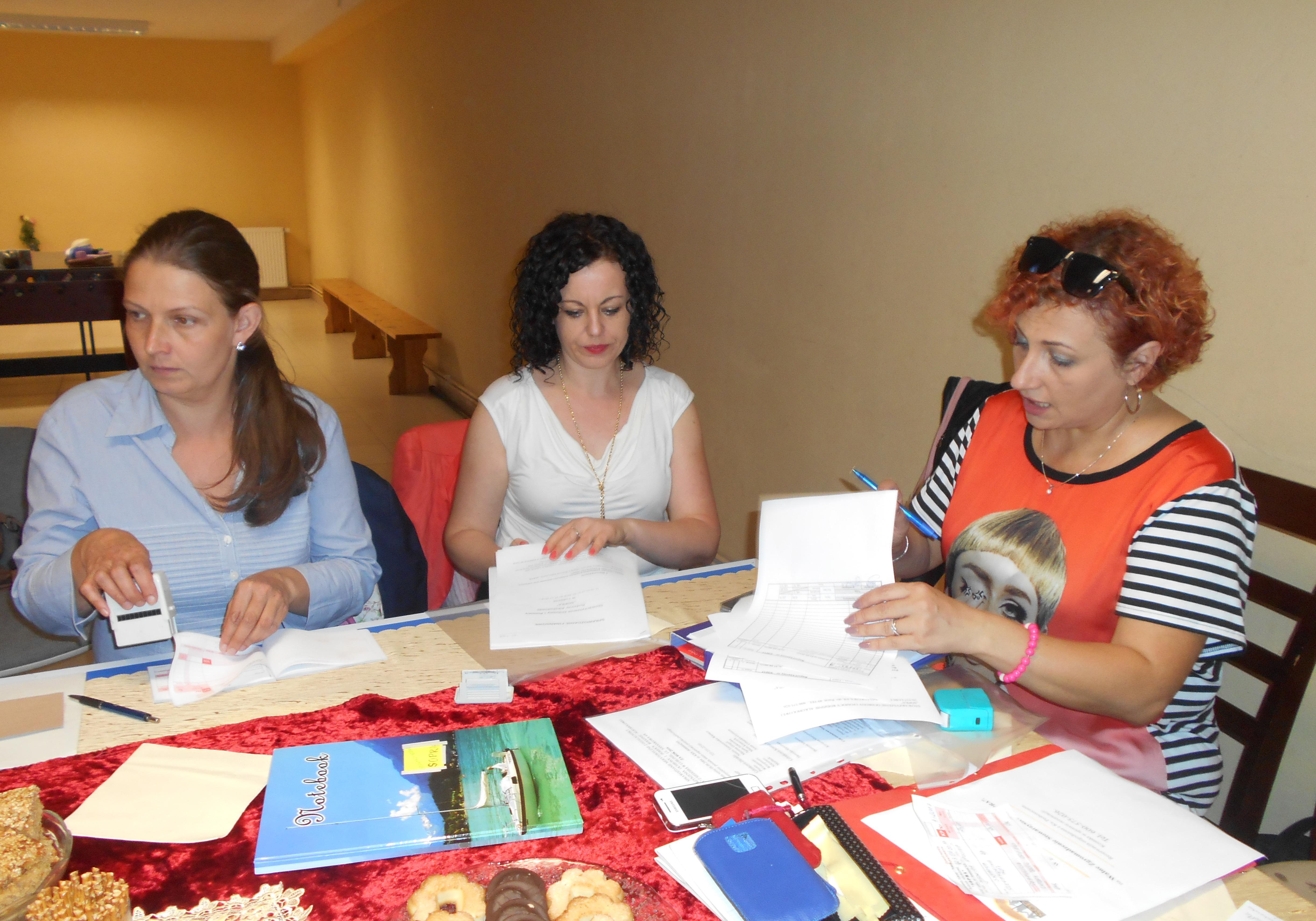 Przygotowanie spraw.finansowego i listy obecności oraz zbieranie składek- Walne Zgromadzenie Stowarzyszenia SOPRA w 2017 roku