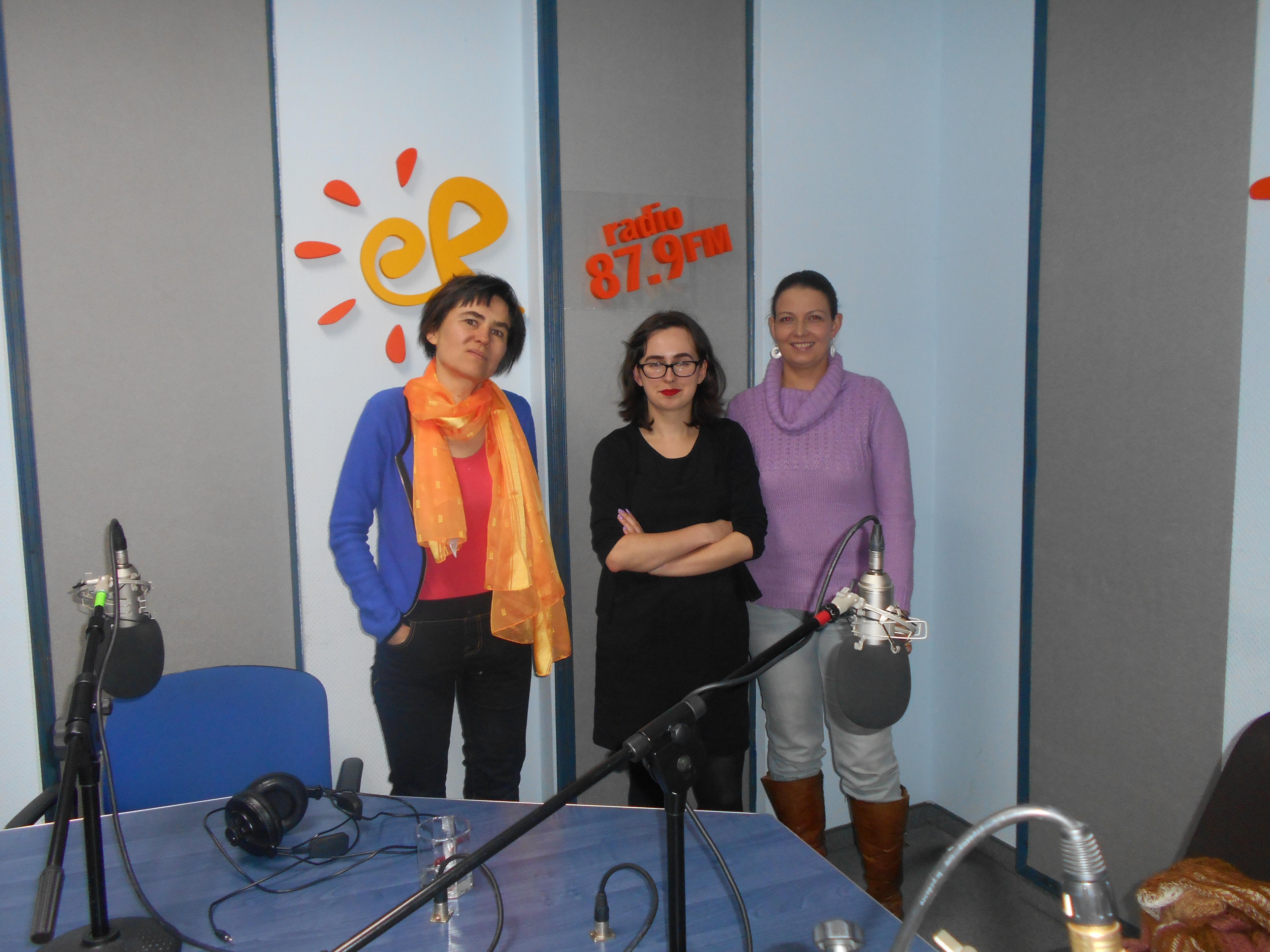 Przedstawicielki SOPRY w radio eR